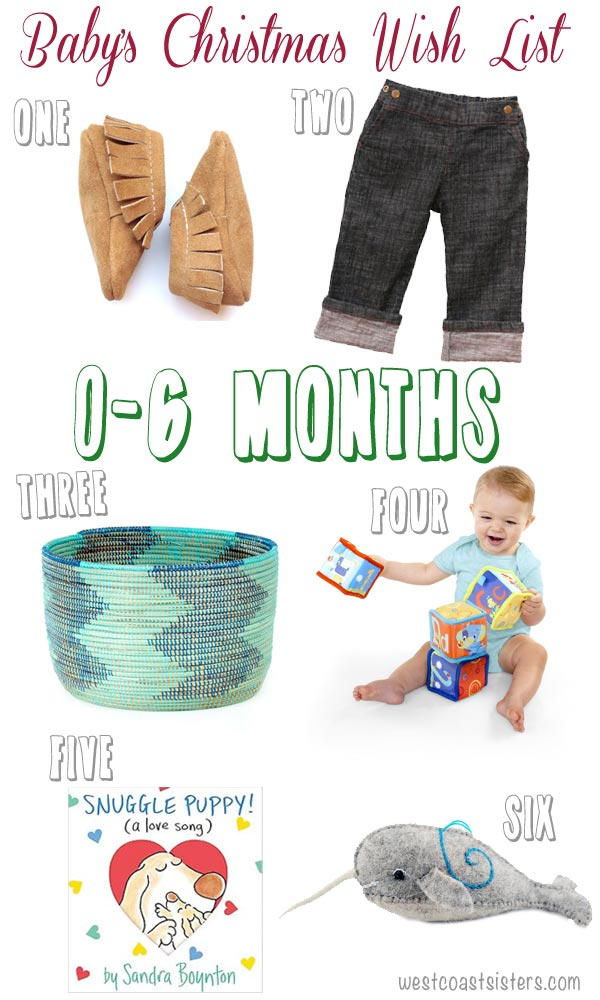 Christmas gifts for baby 0 to 6 months