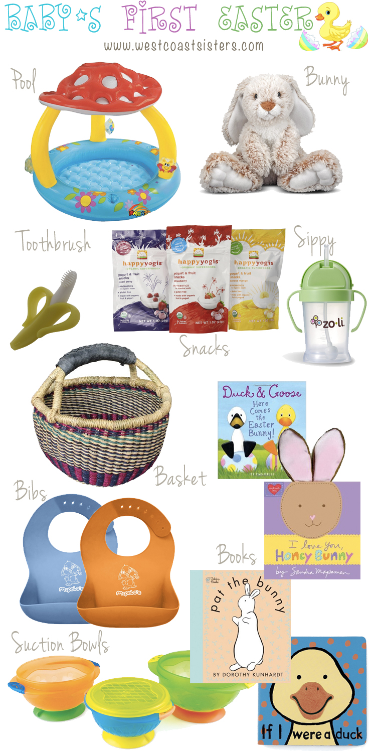 Babys first easter basket ideas west coast sisters baby pool intex mushroom inflatable baby pool negle Choice Image