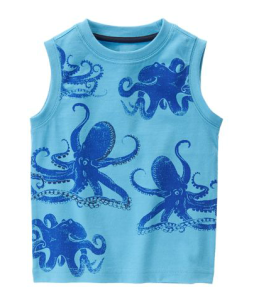 Gymboree Octopus Tank