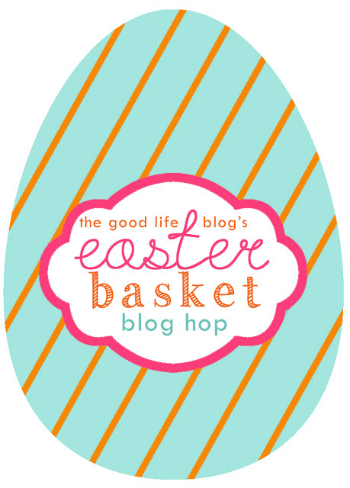 easter egg blog hop logo - the good life blog (1)