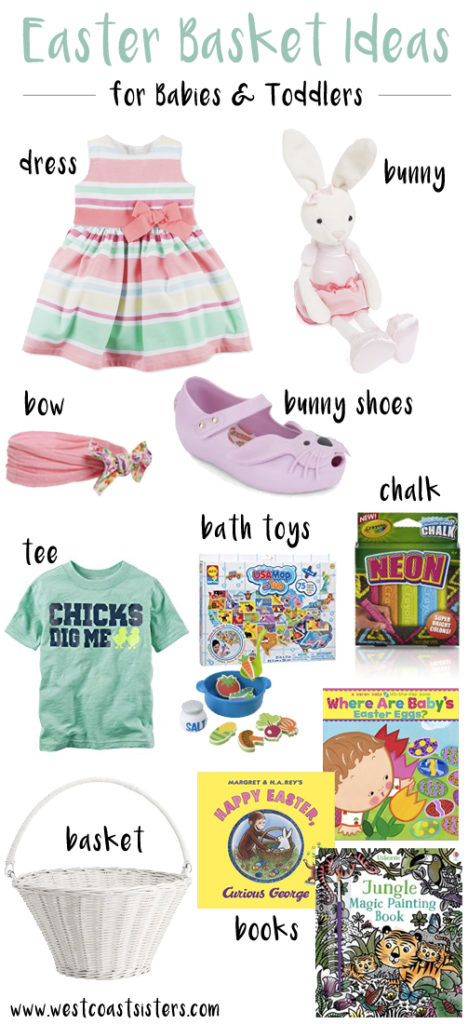 easter basket ideas babies toddlers