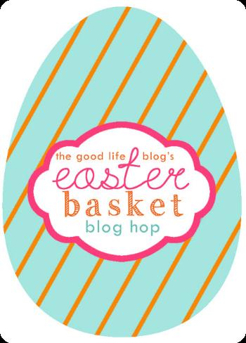 easter egg blog hop logo - the good life blog (1)