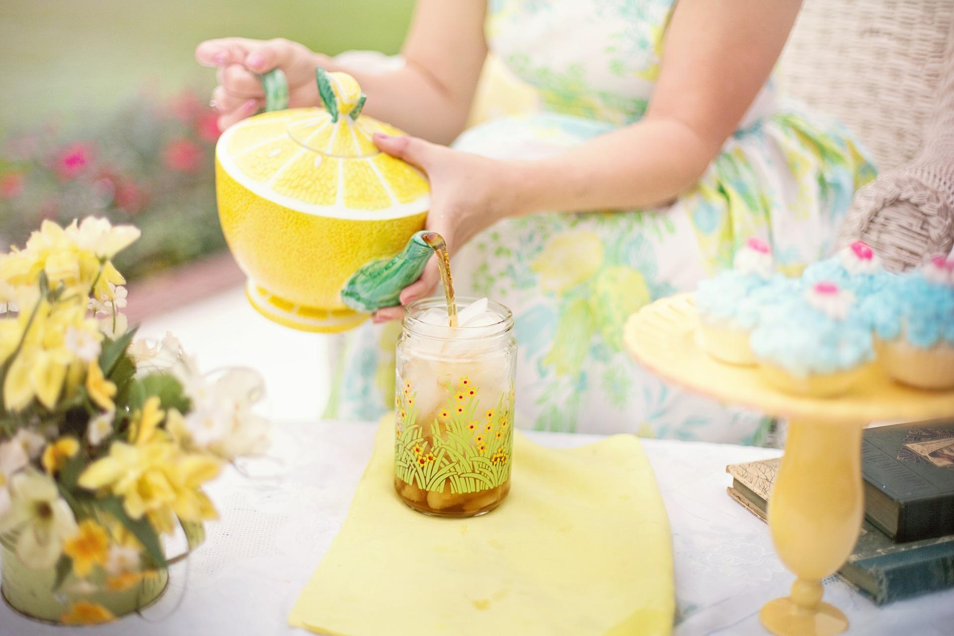Cupcake Ice Tea