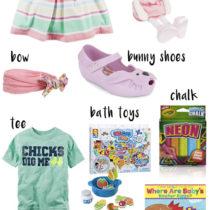 easter basket ideas babies toddlers